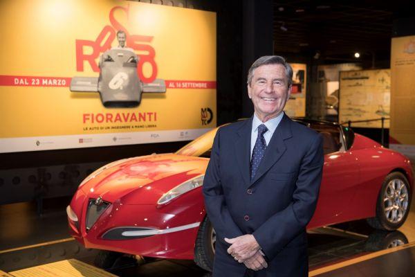 Fioravanti :  storico designer delle rosse in mostra a Torino
