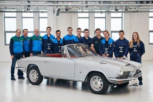 Bmw 1600 GT Cabriolet: carrozzeria di stile italiano, cuore tedesco