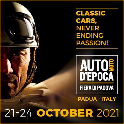 FIERA AUTO MOTO D'EPOCA PADOVA 21-22-23-24 OTTOBRE 2021 OLDCAR24