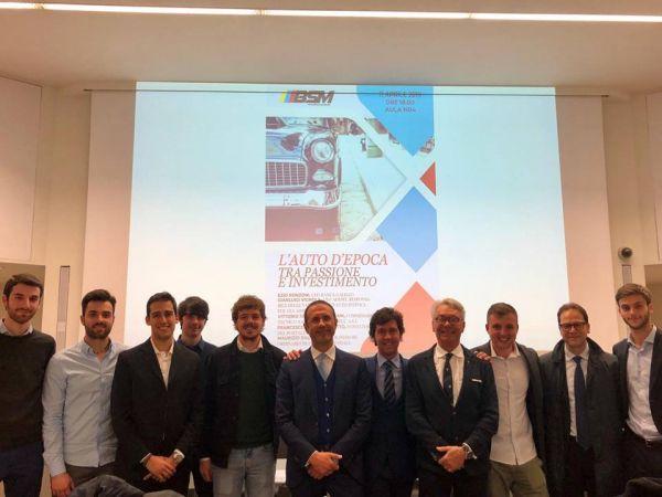 L'università Bocconi di Milano invita OldCar24 per parlare del mercato delle auto d'epoca