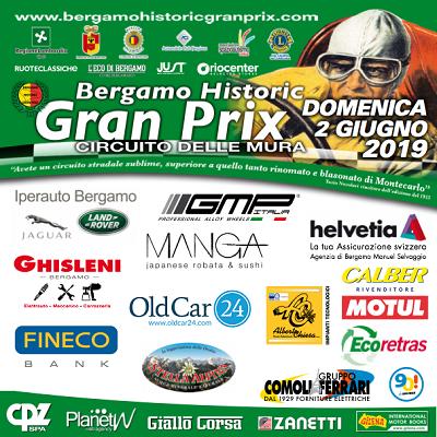 OldCar24 Partner of BERGAMO HISTORIC GRAN PRIX 2019