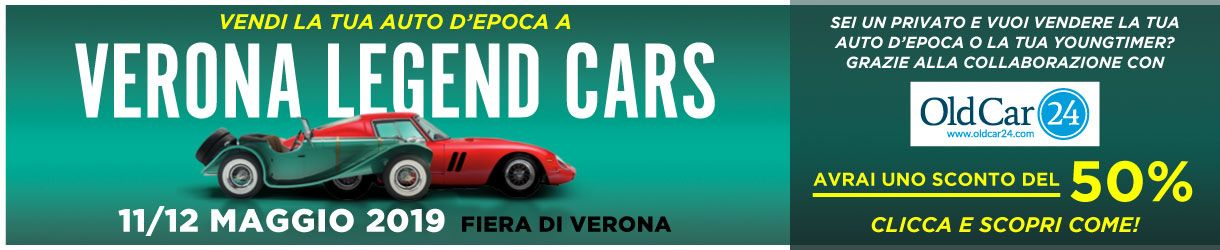 VERONA LEGEND OLDCAR24 - 11/12 MAGGIO 2019 RETT IT