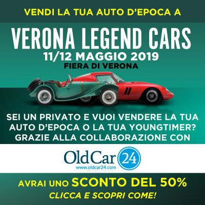 VERONA LEGEND OLDCAR24 - 11/12 MAGGIO 2019 QUADR IT.