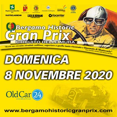 BERGAMO HISTORIC GRAN PRIX 2020