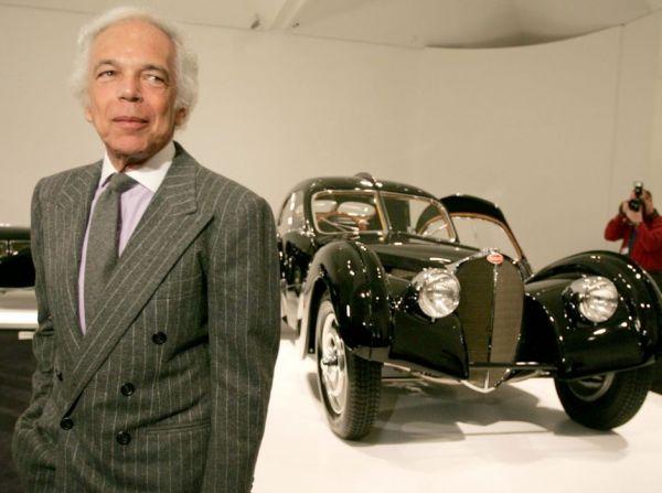 """Ralph Lauren : """"per me le auto d'epoca sono come arte in movimento"""""""