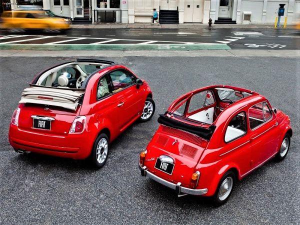 Fiat 500: un'automobile con due padri, Dante Giacosa e Sergio Marchionne