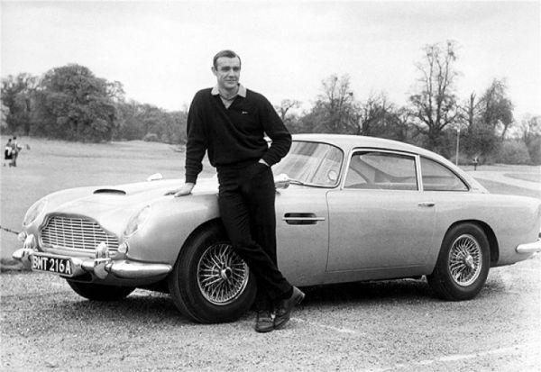Mr. Bond and Aston Martin DB5