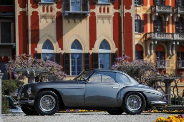 Raduno Alfa Romeo 6C Villa d'Este a Cernobbio :   il lusso made in Italy