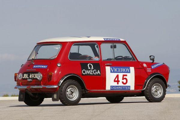 Mini Cooper S la leggenda dei rally