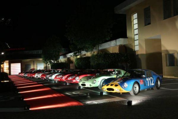 Ferrari 250 GTO festeggia i suoi 55 anni  con un rally a Maranello