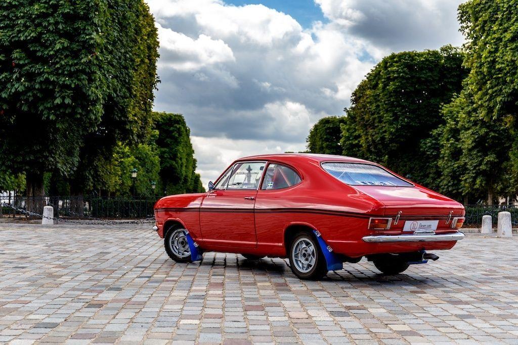Opel kadett rallye