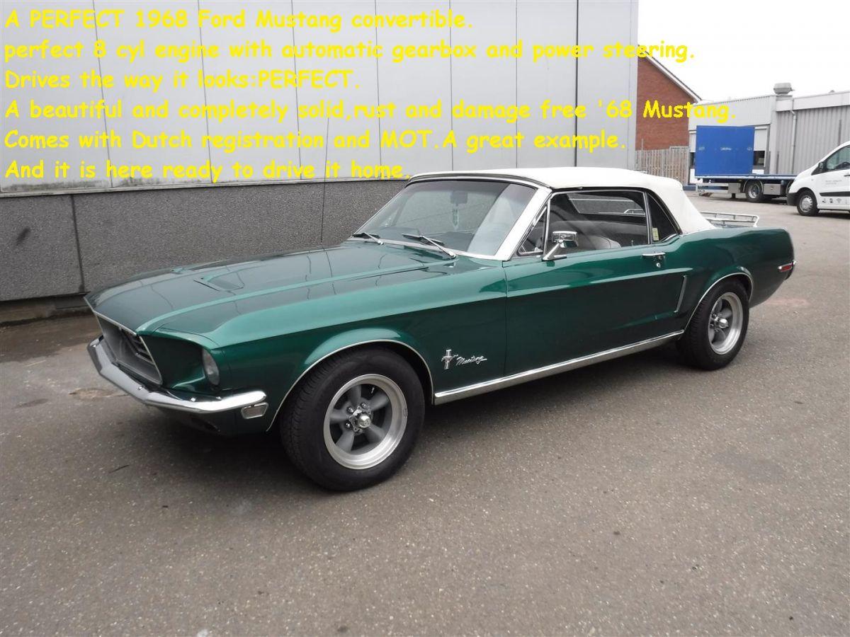 Usate ford mustang 1968 prezzi waa2