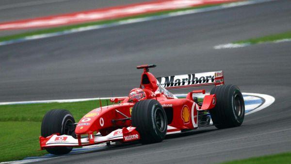 New York: la Ferrari F2001 di Michael Schumacher battuta a 7,5 milioni