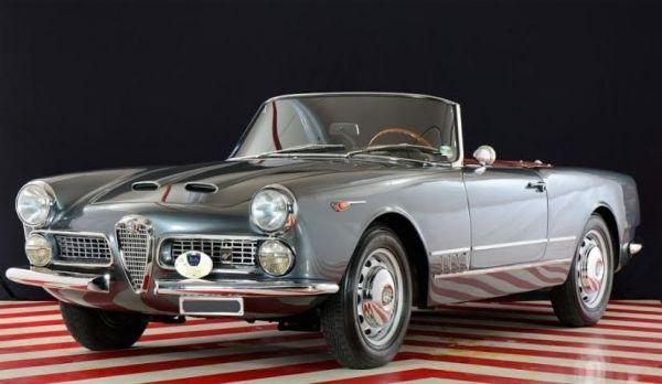 Alfa Romeo 2000 Touring Spider (1957-61)